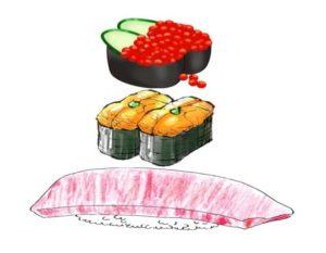 寿司で例えたら大トロの上にウニとイクラが乗っかってるみたいな感じです