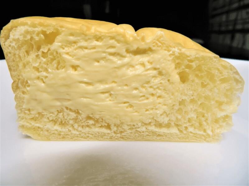 商品説明外装清水屋生クリームパン6個入りチーズレモン味断面図